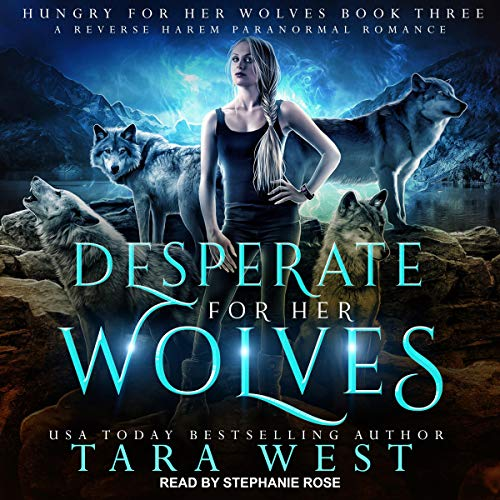 Desperate for Her Wolves audiobook cover art