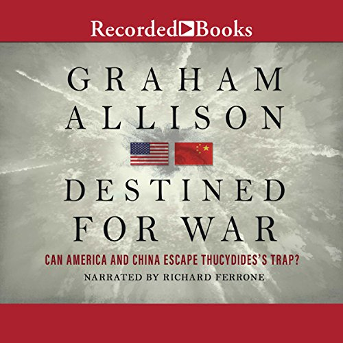 Destined for War audiobook cover art