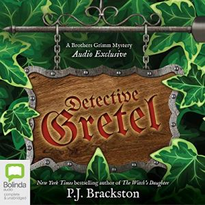 Detective Gretel audiobook cover art