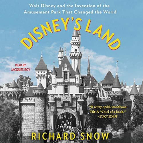 Disney's Land audiobook cover art