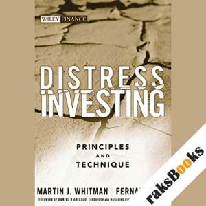 Distress Investing audiobook cover art