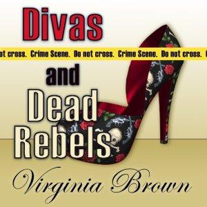 Divas and Dead Rebels audiobook cover art