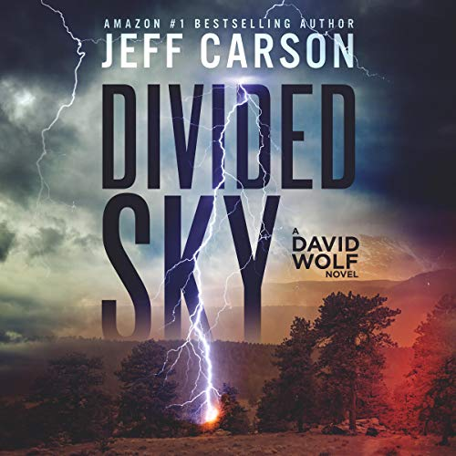 Divided Sky audiobook cover art