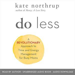 Do Less audiobook cover art