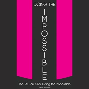 Doing The Impossible audiobook cover art