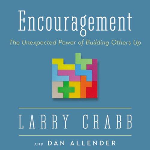 Encouragement audiobook cover art