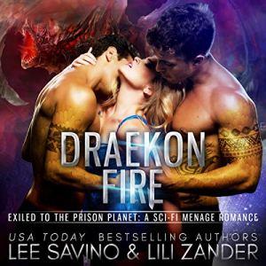 Draekon Fire audiobook cover art