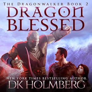Dragon Blessed audiobook cover art