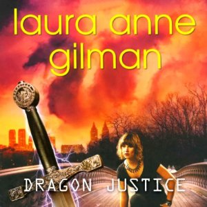 Dragon Justice audiobook cover art