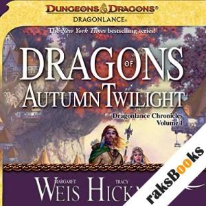 Dragons of Autumn Twilight audiobook cover art