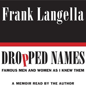 Dropped Names audiobook cover art