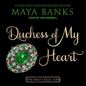 Duchess of My Heart audiobook cover art