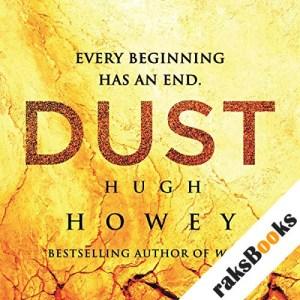 Dust audiobook cover art