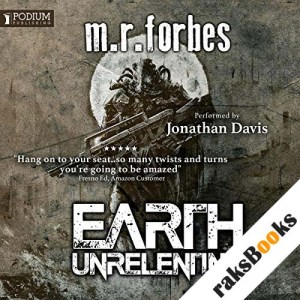 Earth Unrelenting audiobook cover art