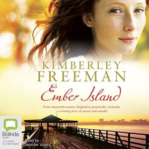 Ember Island audiobook cover art