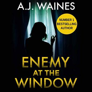Enemy at the Window audiobook cover art