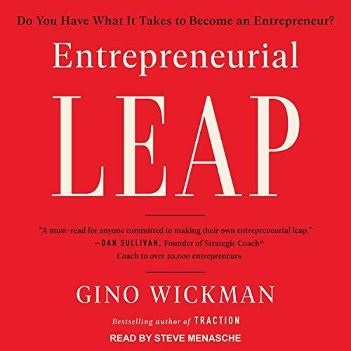 Entrepreneurial Leap audiobook cover art