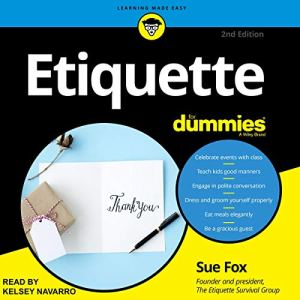 Etiquette for Dummies, 2nd Edition audiobook cover art