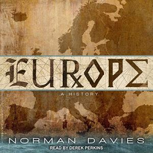 Europe audiobook cover art