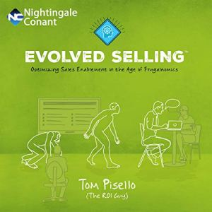 Evolved Selling audiobook cover art
