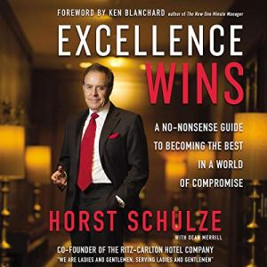 Excellence Wins audiobook cover art
