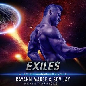 Exile (A SciFi Alien Romance) audiobook cover art