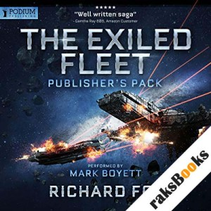 Exiled Fleet audiobook cover art