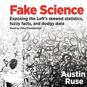 Fake Science audiobook cover art