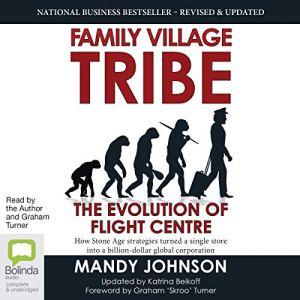 Family Village Tribe audiobook cover art