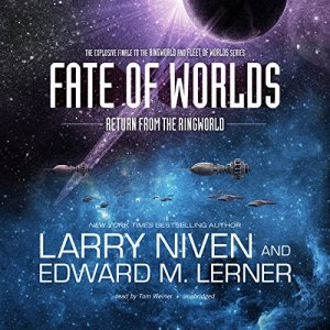 Fate of Worlds audiobook cover art