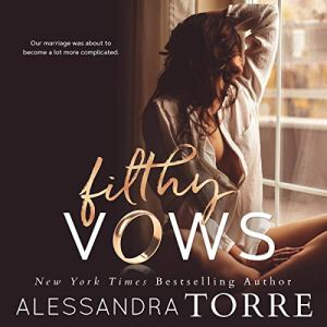 Filthy Vows audiobook cover art