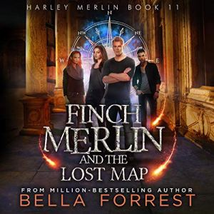 Finch Merlin and the Lost Map audiobook cover art