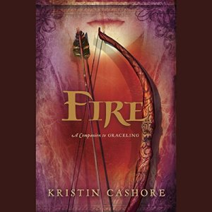 Fire audiobook cover art