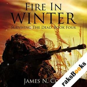 Fire in Winter audiobook cover art