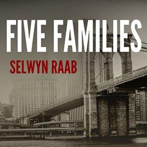 Five Families audiobook cover art