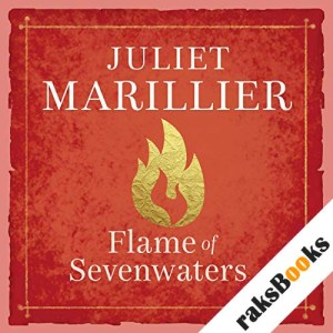 Flame of Sevenwaters audiobook cover art