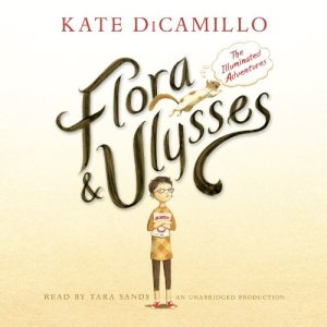 Flora and Ulysses audiobook cover art