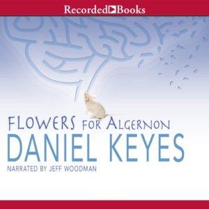 Flowers for Algernon audiobook cover art