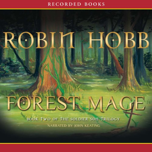 Forest Mage audiobook cover art