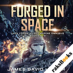 Forged in Space Omnibus audiobook cover art