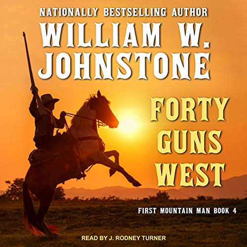 Forty Guns West audiobook cover art