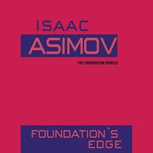 Foundation's Edge audiobook cover art