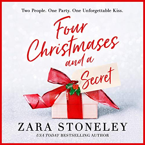 Four Christmases and a Secret audiobook cover art