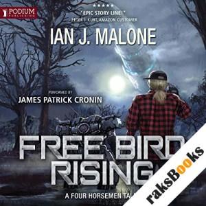 Free Bird Rising audiobook cover art