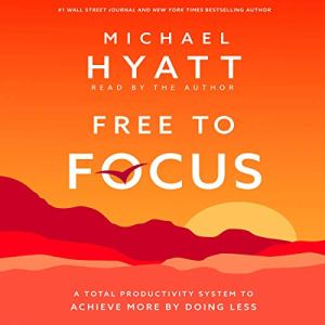 Free to Focus audiobook cover art
