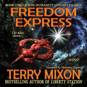 Freedom Express audiobook cover art
