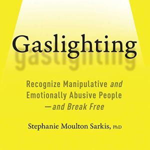 Gaslighting audiobook cover art