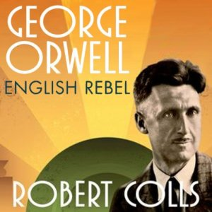 George Orwell audiobook cover art