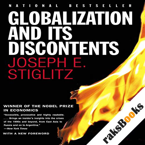 Globalization and Its Discontents audiobook cover art