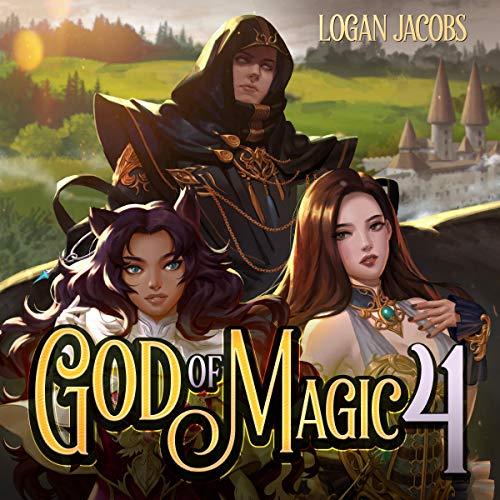 God of Magic 4 audiobook cover art